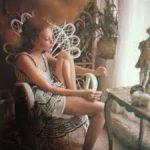 Karen Sather - February Penthouse Pet 1973