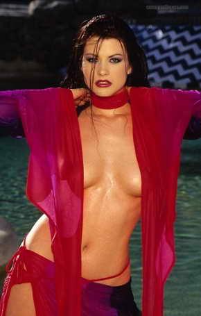 Juliet Cariaga - December Penthouse Pet 1997
