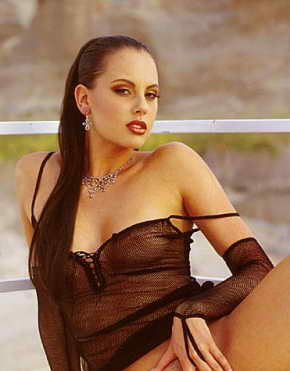 Cat Daniels - February Penthouse Pet 1999