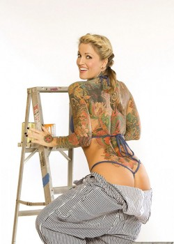 Janine Lindemulder - December Penthouse Pet 1987