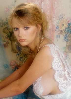 Janna Adams - October Penthouse Pet 1986