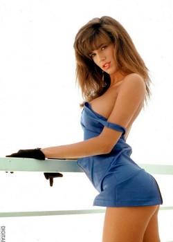 Kelly Jackson (Racquel Darrian)- October 1990 Penthouse Pet