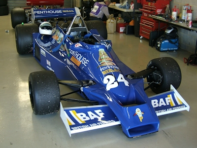 Penthouse Sponsored Formula 1 Car