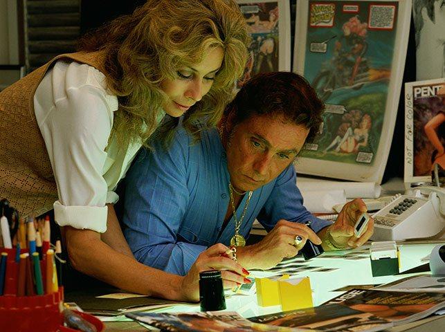 Bob Guccioni and Kathy Keaton Working at Penthouse