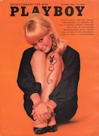 Playboy Magazine October 1966 Halloween