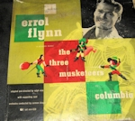Errol Flynn The Three Muketeers Soundtrack Album