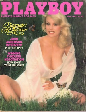 June 1980 Playboy Magazine Dorothy Stratten Playmate of the Year