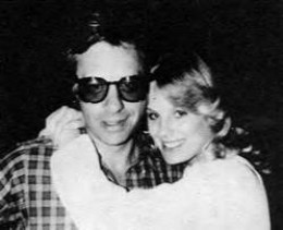 Dorothy Stratten with Peter Bogdanovich