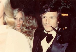 Hugh Heffner at a Playboy Party in 1978